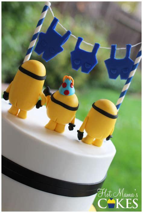 naked minions cakecentralcom
