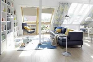 Möbel Für Dachgeschoss : 1001 ideen f r dachfenster gardinen und vorh nge ~ Sanjose-hotels-ca.com Haus und Dekorationen