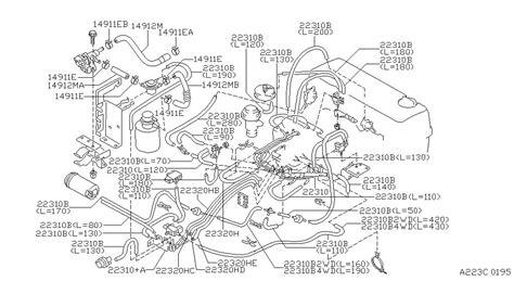 Nissan Pickup Engine Diagram Automotive Parts