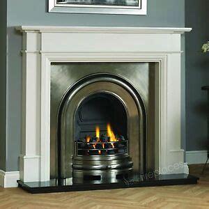 painting cast iron fireplace white traditional gas white surround black granite cast iron