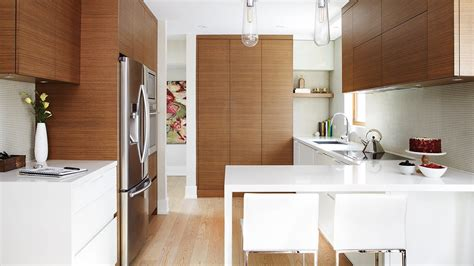interior design  small modern kitchen  smart