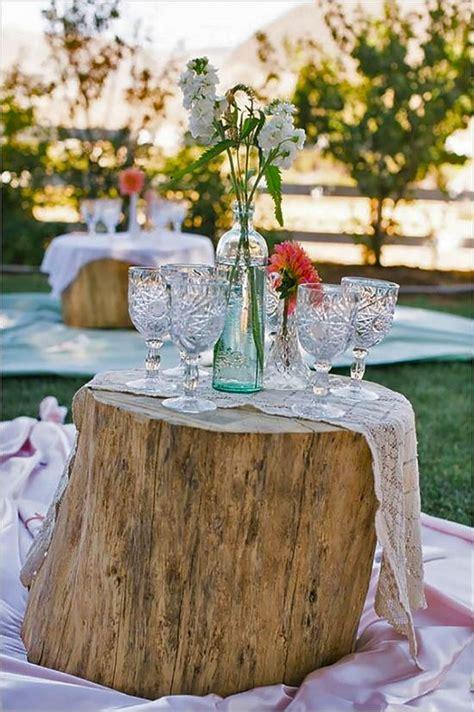 fun outdoor picnic wedding ideas  copy deer pearl