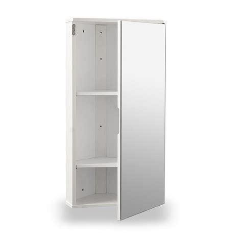 white gloss corner bathroom wall cabinet roman  home