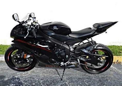 Used 2013 Yamaha R6 Yzf Sport Bike Low Mileage Bikes