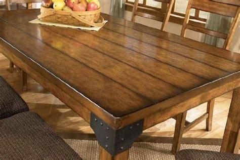 Rustic Bedroom Furniture Ideas, Rustic Dining Room Table
