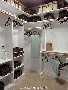 Diy Walk In Closet Design - WoodWorking Projects & Plans