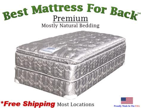 best mattress for back xl premium best mattress for back