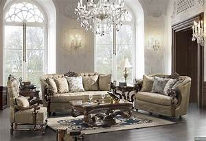 Elegant traditional formal living room furniture for Formal living room furniture