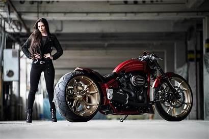 Harley Davidson Thunderbike Breakout Custom Laguna Seca