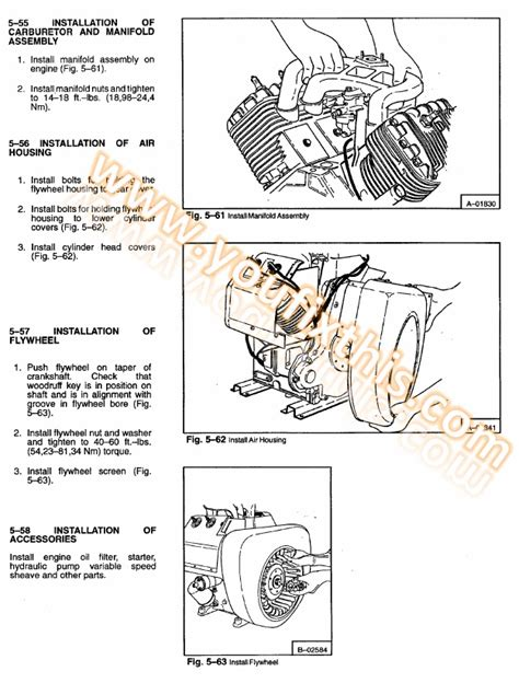 Bobcat 741 Wiring Diagram by Bobcat 741 742 742b Repair Manual Skid Steer Loader