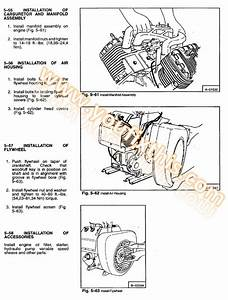 Bobcat M610 M600 M500 M444 Repair Manual  Skid Steer