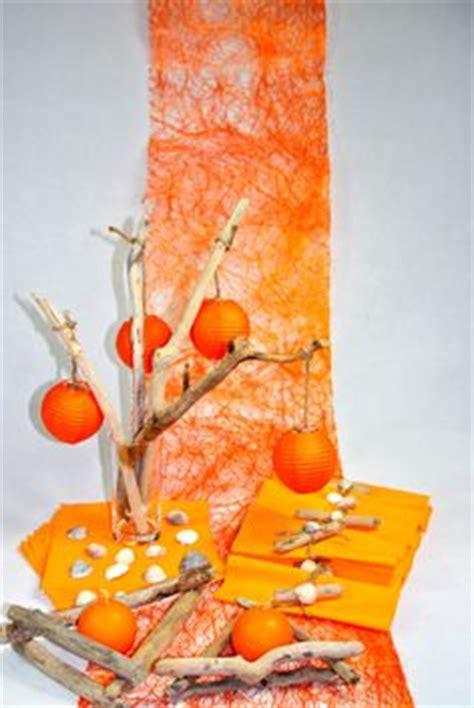 d 233 co de table orange automne on deco orange and autumn