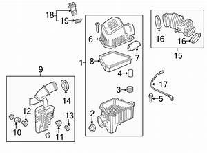 2016 Chevrolet Air Filter  2 4 Liter  3 0 Liter  3 6 Liter  Equinox  Terrain