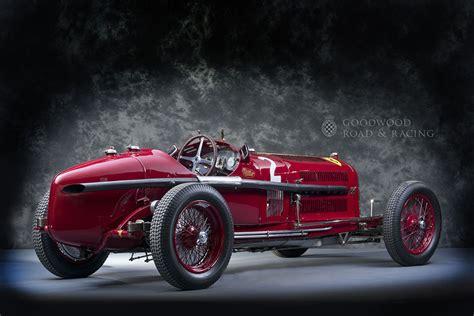Goodwood Greats  Alfa Romeo P3 Tipo B