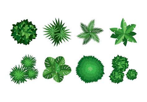 tree tops template tree tops flat vector download free vector art stock