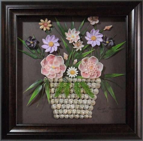 how to make seashell flowers seashell flower arrangement seashell crafts pinterest