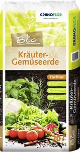 Erde Für Kräuter : gramoflor gramoflor bio erden torffrei ~ Lizthompson.info Haus und Dekorationen