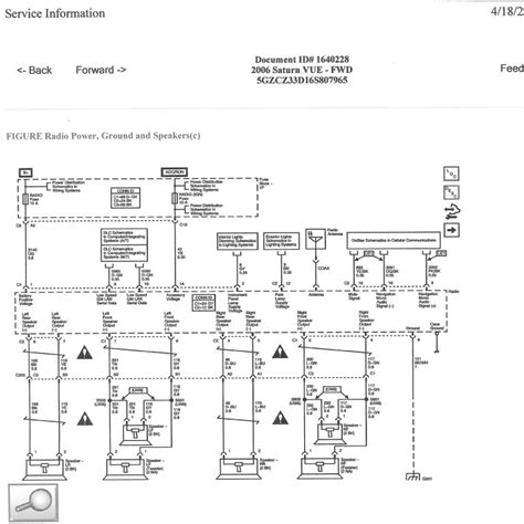 2007 Saturn Ion Radio Wire Diagram by 06 Vue Sun Sound Wiring Saturnfans Forums