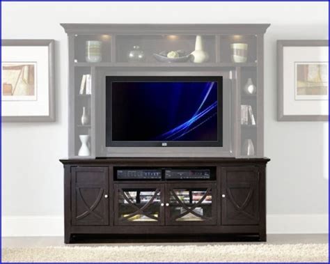 liberty furniture piedmont   dark mocha wood tv
