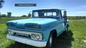1960 Gmc 1    2 Ton Step Side Pickup