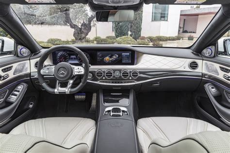 Graphite grey metallic with red bk interior. 2018 Mercedes-AMG S63 | Top Speed