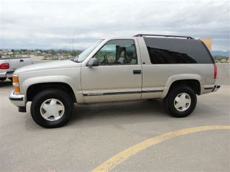 2 door trucks for 1999 chevrolet 2 door tahoe lt 4x4 great looking truck for