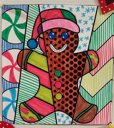 gingerbread man activities pop art coloring sheets