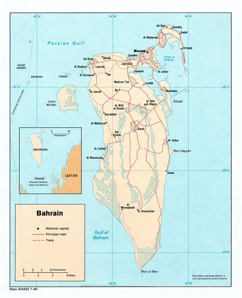 Bahrain Maps - Perry-Castañeda Map Collection - UT Library ...