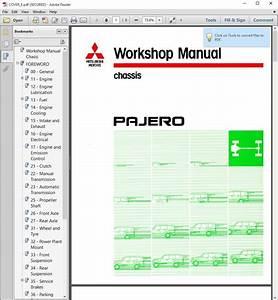 Awesome 2001  U2013 2003 Mitsubishi Montero Pajero Service