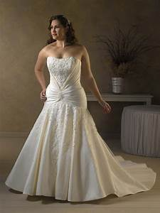 mermaid strapless taffeta plus size wedding dress wb With plus size mermaid wedding dresses