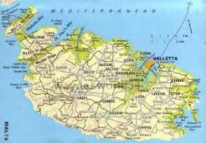 Malta Map - Map - Holiday - Travel HolidayMapQ com