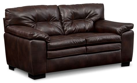 Brown Loveseats by Magnum Loveseat Brown Value City Furniture And Mattresses
