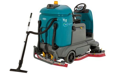 Rider Floor Scrubber Machine by Tennant T12 Rider Floor Scrubber 3