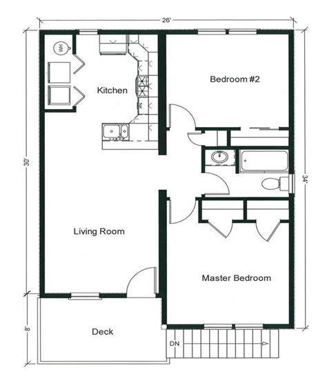 bedroom bungalow floor plan plan
