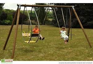 Portique Balancoire Bois Drisse Soulet Portique Bois