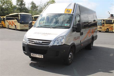 2007 Iveco Daily 15 Seats + Wheelchair Lift