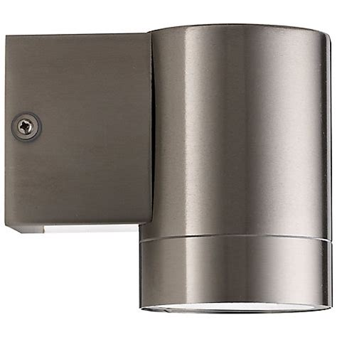 buy nordlux tin maxi outdoor wall light stainless steel