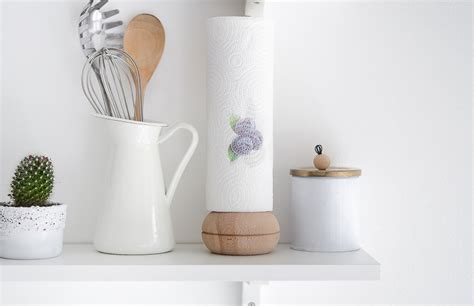kitchen towel holder ideas diy paper towel holder