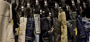 The Best Way to Hang Dress Pants and Jeans So They