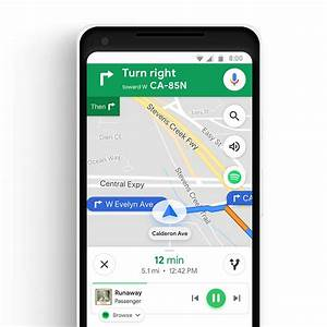Google Maps adds commute features and integrates Spotify ...