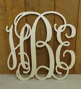 wooden monogram monogram wall hanging from letterworld on With hanging wooden letters on wall