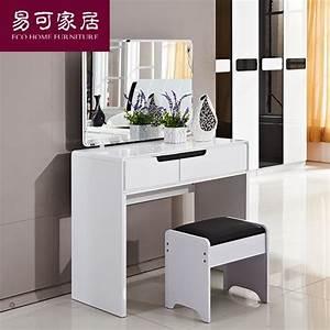 Coiffeuse Moderne Avec Miroir : meuble coiffeuse moderne table de lit ~ Farleysfitness.com Idées de Décoration