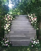 ( bloomsandflora) on Instagram: Flower walls Photo
