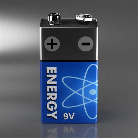 9 volt block batterie 3d model 9 volt block battery vr ar low poly obj fbx blend mtl cgtrader