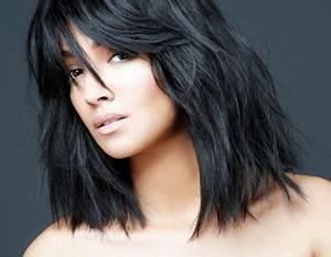 Coupe Femme Tendance 2016 : coiffure tendance 2016 femme cheveux mi long ~ Voncanada.com Idées de Décoration