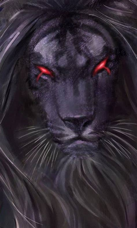 evil lion wallpaper samantha zedge