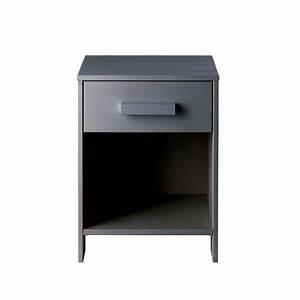 Table De Chevet Wengé : table de chevet en bois fsc denis par drawer ~ Nature-et-papiers.com Idées de Décoration