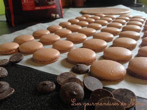 macarons au chocolat les gourmandises de n 233 mo