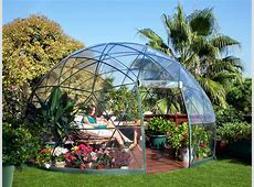 The Garden Igloo is a PopUp Geodesic Dome Perfect for Any