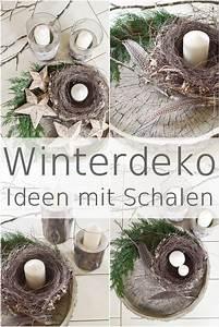 Schalen Deko Ideen : die besten 25 adventsgestecke aus naturmaterialien ideen auf pinterest weihnachtsschmuck ~ Whattoseeinmadrid.com Haus und Dekorationen